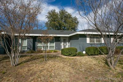Midland Single Family Home For Sale: 2510 Seaboard Ave