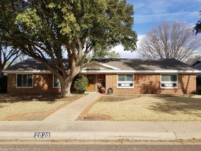Midland Single Family Home For Sale: 2820 Stutz Dr