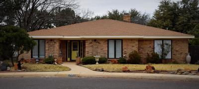 Midland Single Family Home For Sale: 2812 Andover