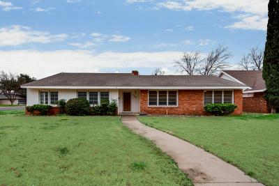 Midland Single Family Home For Sale: 3201 Sinclair Ave