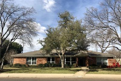 Midland Single Family Home For Sale: 3204 Shell Ave