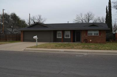 Odessa TX Single Family Home For Sale: $239,900