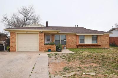 Midland TX Single Family Home For Sale: $235,500