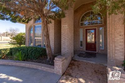 Odessa Single Family Home For Sale: 8236 San Simon