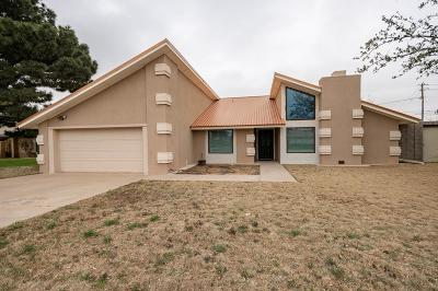Odessa Single Family Home For Sale: 6425 Piedmont Dr