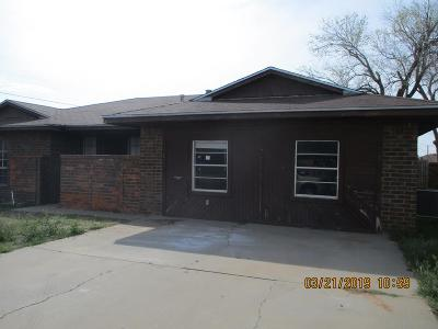 Midland Single Family Home For Sale: 4601 Brookdale Dr