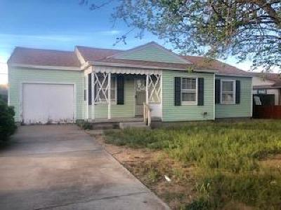 Midland Single Family Home For Sale: 1209 E Cowden Ave