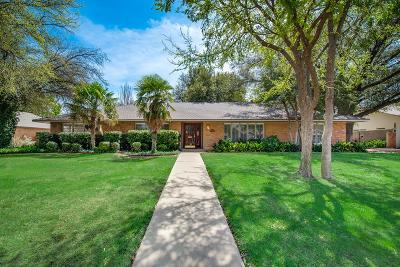 Midland Single Family Home For Sale: 3107 Gulf Ave