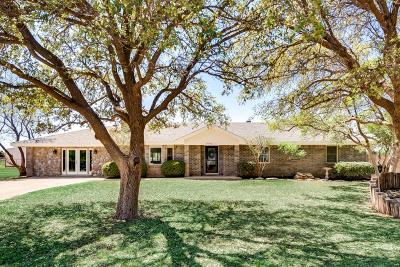 Midland Single Family Home For Sale: 1900 S County Rd 1138