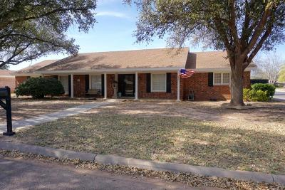 Midland Single Family Home For Sale: 3100 Metz Dr