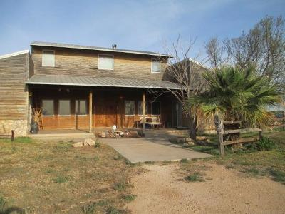 Single Family Home For Sale: 1901 S County Rd 1090