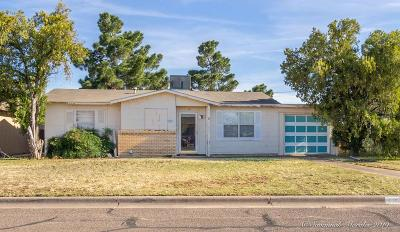 Midland Single Family Home For Sale: 4107 Pleasant Dr