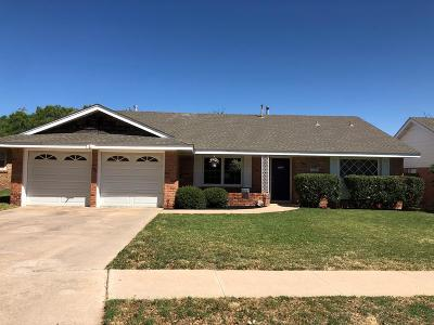 Midland Single Family Home For Sale: 3208 Camarie Ave