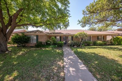 Midland Single Family Home For Sale: 2905 Goddard Place