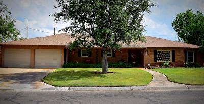 Midland Single Family Home For Sale: 2305 Country Club Dr