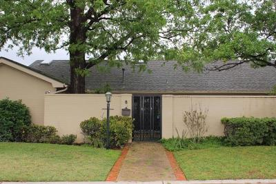 Midland Single Family Home For Sale: 8 Oaklawn Park