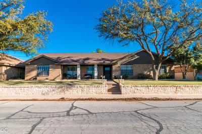 Midland Single Family Home For Sale: 4008 Crestgate Ave