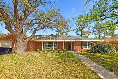 Midland Single Family Home For Sale: 2818 Marmon Dr