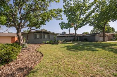 Greenwood, Midland Single Family Home For Sale: 905 Country Club Dr