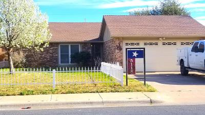 Midland County Rental For Rent: 5115 Sunnyside Dr