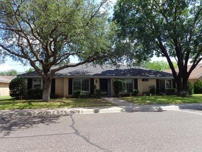 Midland Single Family Home For Sale: 3007 Goddard Place