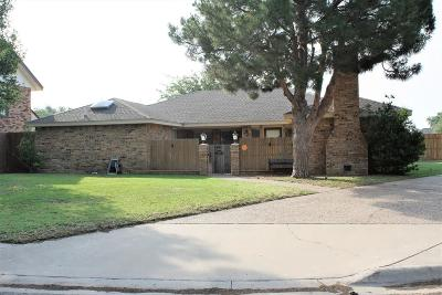 Midland Single Family Home For Sale: 5100 Daventry Place