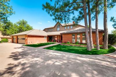 Midland Single Family Home For Sale: 4703 Green Tree Blvd