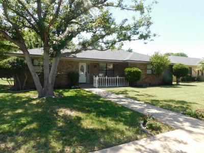 Midland Single Family Home For Sale: 4401 Parkhurst Dr