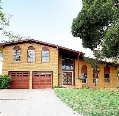 Midland Single Family Home For Sale: 3307 Durant Dr