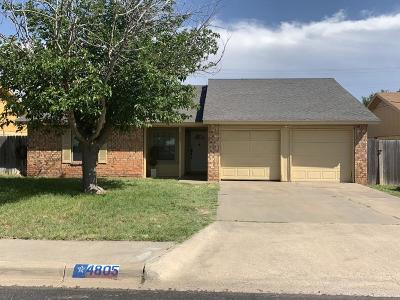 Midland Single Family Home For Sale: 4805 Ric Dr