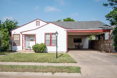 Single Family Home For Sale: 913 Edwards St.
