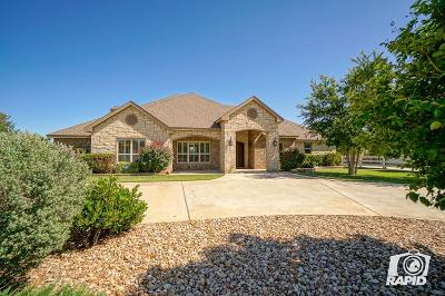 Midland Single Family Home For Sale: 6506 Saddle Horn Lane