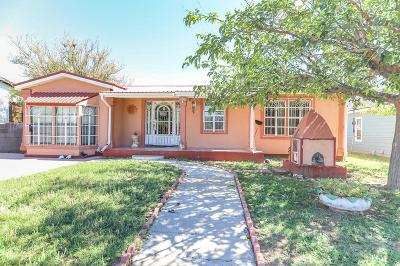 Odessa TX Single Family Home For Sale: $159,900