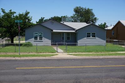 Odessa Single Family Home For Sale: 901 E 18th St