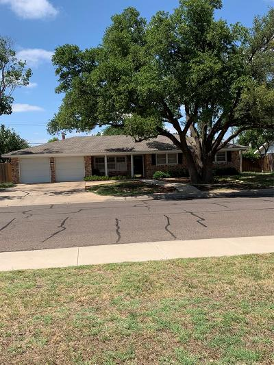 Midland Single Family Home For Sale: 2406 Cimmaron Ave