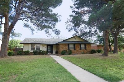 Midland Single Family Home For Sale: 2512 Goddard Dr