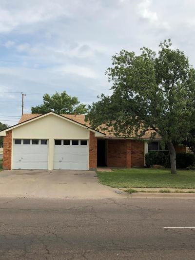 Midland Single Family Home For Sale: 4520 Anetta Dr