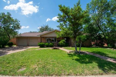 Midland Single Family Home For Sale: 4502 W Dengar Ave
