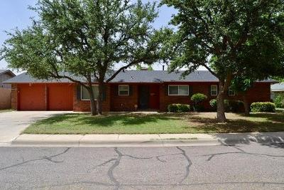 Midland Single Family Home For Sale: 4318 Greenbriar Dr