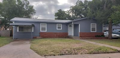 Odessa Single Family Home For Sale: 3624 Walnut Ave