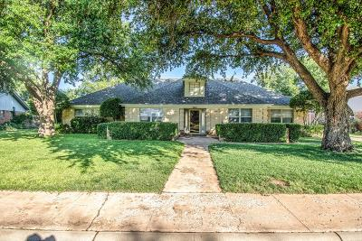 Midland Single Family Home For Sale: 3614 W Shandon Ave