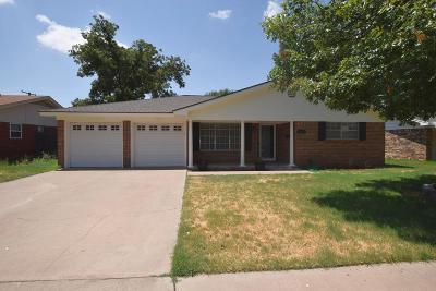 Midland Single Family Home For Sale: 3322 Dengar Ave
