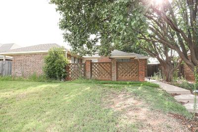 Midland Single Family Home For Sale: 2601 Idlewilde Dr