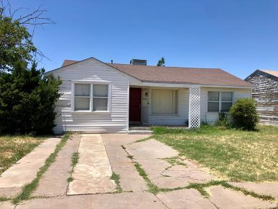 Midland TX Single Family Home For Sale: $139,900
