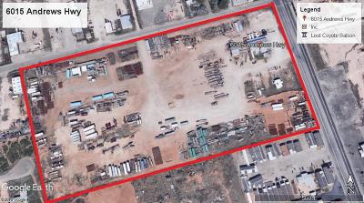 Odessa Residential Lots & Land For Sale: 6015 Andrews Hwy