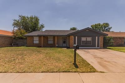 Odessa TX Single Family Home For Sale: $274,900