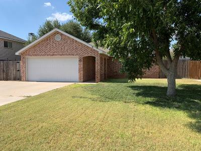 Odessa Single Family Home For Sale: 8209 San Antonio St
