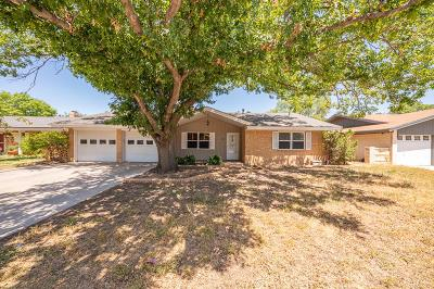 Midland Single Family Home For Sale: 3506 Hyde Park Ave