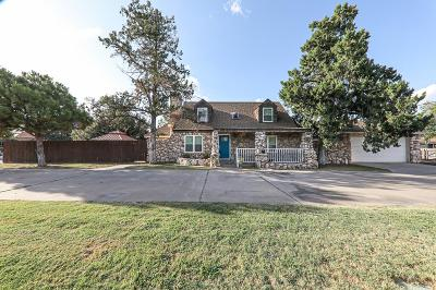 Midland Single Family Home For Sale: 2902 W Golf Course Rd