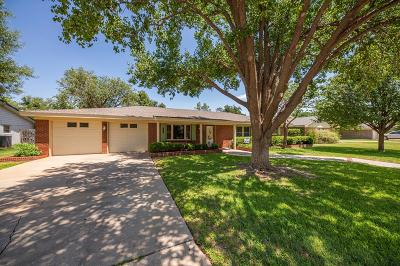 Midland Single Family Home For Sale: 2606 Terrace Ave